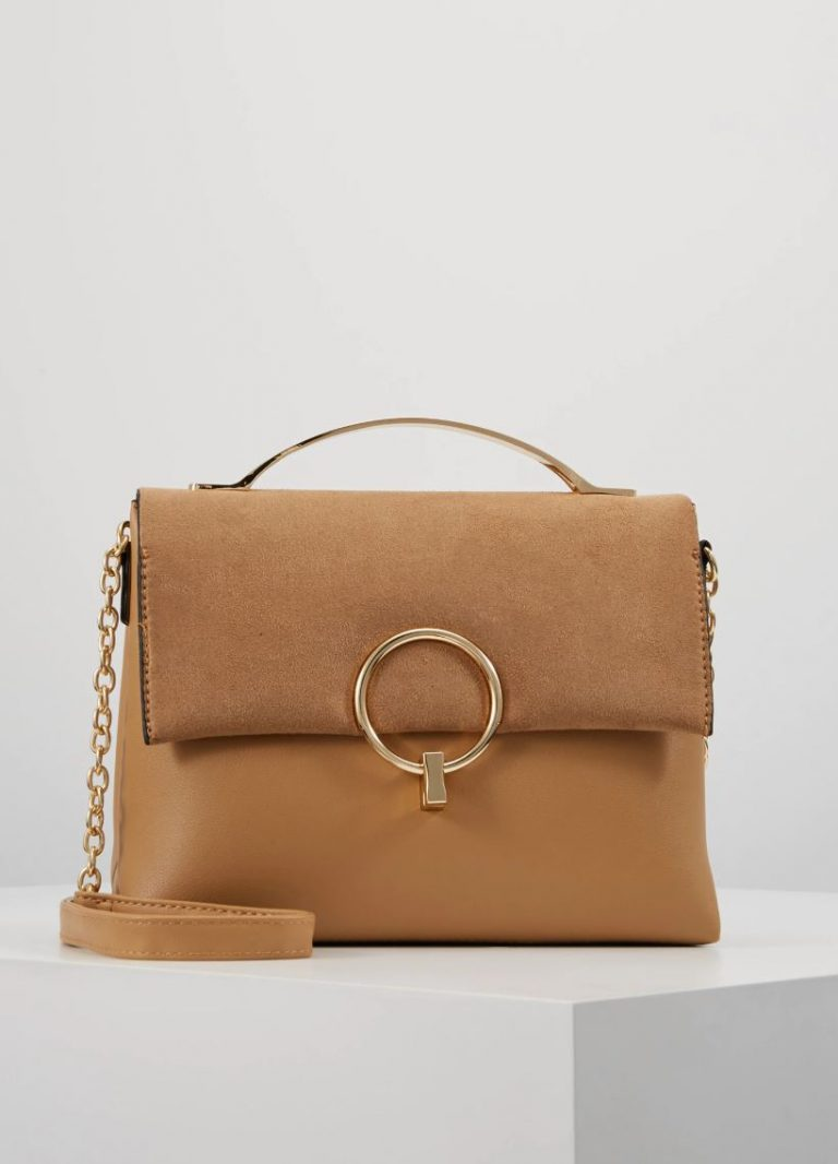 New Look camel cross body bag- Zalando