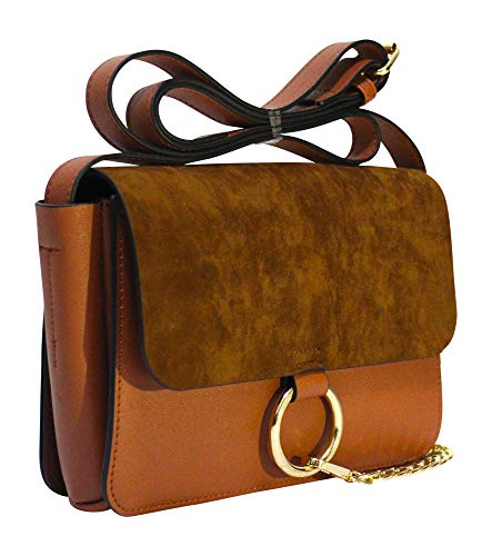 Tan ring detail satchel- Amazon