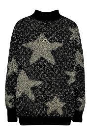 Premium embellished tinsel Christmas jumper- Boohoo